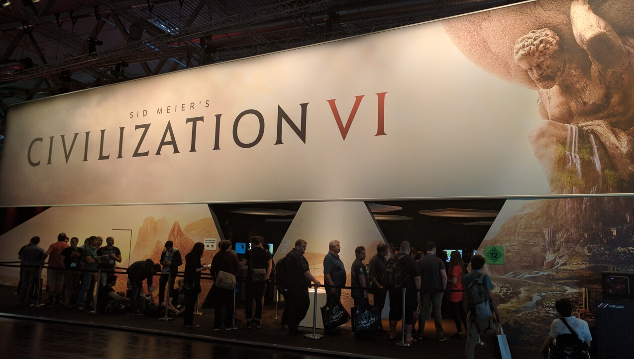 Civilization VI at GamesCom, part 1