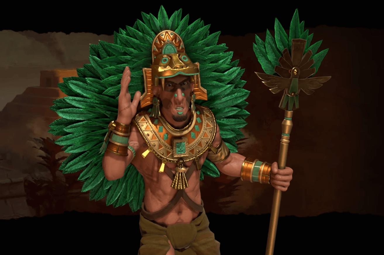 Aztec civilization leader