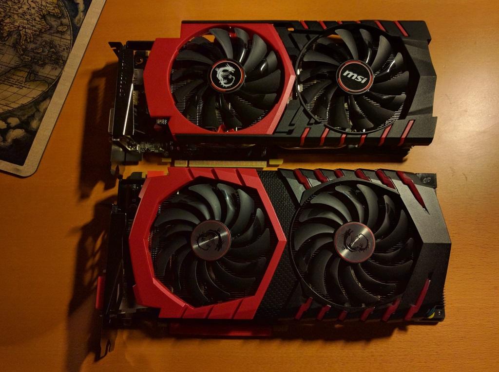 Compare GTX 970 and GTX 1080